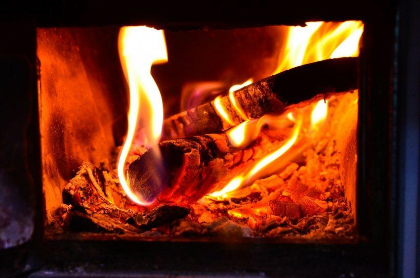 madera ardiente