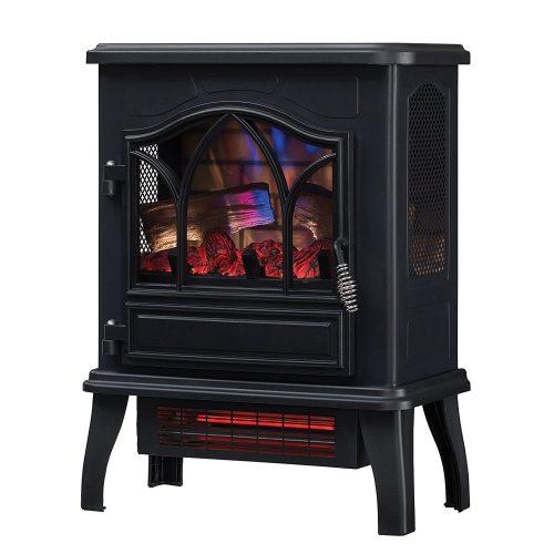 estufas eléctricas decorativas efecto llama