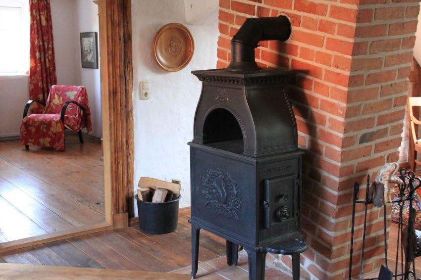 estufas de leña con horno