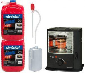 estufas de parafina sin electricidad