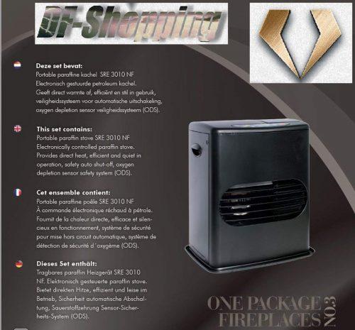 estufa parafina electronica